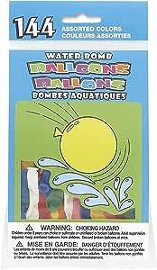 独特的派对 5202 水气球 多种金色 144 件装
