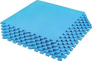 MIISY 体操垫拼图 EVA 泡沫互锁瓷砖锻炼锻炼垫保护地板垫适用于家庭健身房设备
