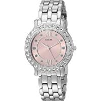 GUESS 女士不锈钢水晶手表