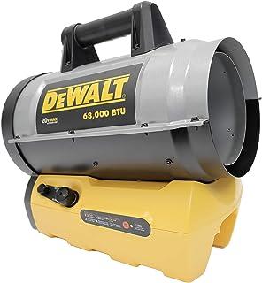 DEWALT 得伟 DXH70CFAV 便携式丙烷无绳加热器,黄色