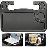 Cutequeen Trading 汽车 1 个进食/笔记本电脑方向盘台灰色黑色(1 个装) FBA_JIANXIN-1…