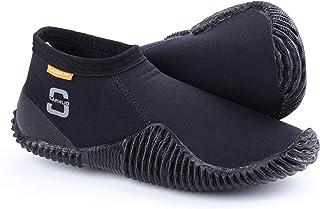 Sarhlio 氯丁橡胶潜水靴 3 毫米防滑橡胶鞋底 适用于水肺潜水浮潜皮划艇滑水