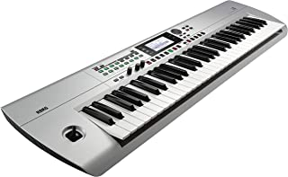 Korg i3 音乐工作站键盘 - 61 键 - 哑光银色