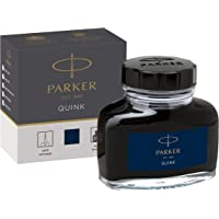 PARKER 派克 QUINK 蓝黑色墨水瓶,57毫升