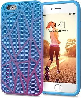 iPhone 6s 手机壳/iPhone 6 手机壳,时尚手机壳 Stil Slim 手机壳紫色/双层/硬壳 /