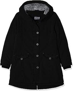 Urban Classics 女式 Jacke 服装水洗长款派克大衣