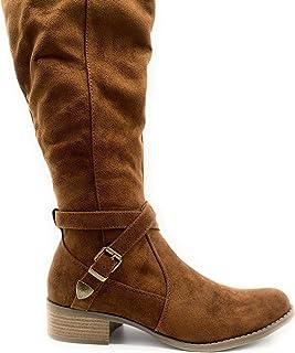 过膝靴子 Merona 白兰地棕色