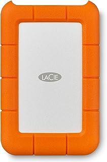 LaCie 1TB 坚固迷你 USB 便携式外置硬盘适用于 PC 和 MAC