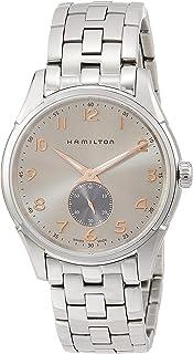 Hamilton Jazzmaster Thinline 石英灰色表盘男式手表 H3841180