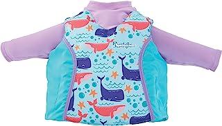 Puddle Jumper 儿童二合一救生衣和*衣,鲸鱼,均码