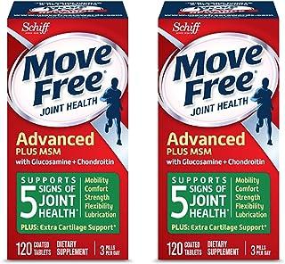 Move Free 益节 氨糖软骨素 + MSM片 120粒 2瓶