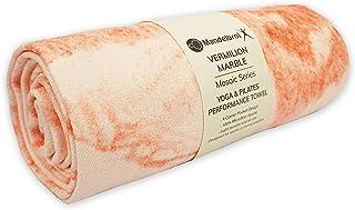 Mandelbrot X 马赛克系列瑜伽毛巾。 * 4 角口袋设计,非常适合热瑜伽、比基尼和普拉提,* 超细纤维绒面,超吸水,防滑,60.96 厘米 x 182.88 厘米