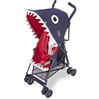 Maclaren 玛格罗兰 MARKII SHARK 鲨鱼超轻便婴儿车 伞车 (适合6个月以上,单手收车,两档调节,仅重…