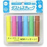 Rikagaku 各种颜色无尘粉笔 6 件 (DCC-6-6C)