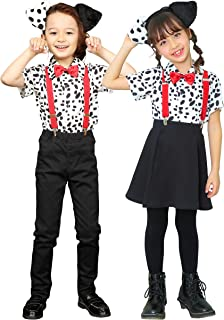 Party City 动物衬衫 角色扮演 金马青衬衫 儿童 100cm 白色 黑色
