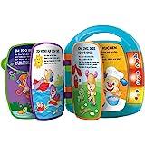 Fisher-Price CDH40 - 学习乐趣歌曲书 婴儿玩具 用于学习字母、数字和形状 6 个月以上玩具 德语