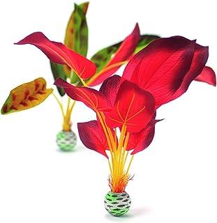 Reef One Biorb Silk Plants Red / Green 大