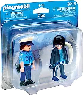 Playmobil 9218 可收集的警察和Burglar Duo 套装