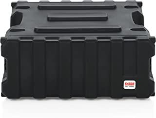 Gator Cases Pro 系列旋转模塑 4U 机架式手机壳,标准深度为 19 英寸;美国制造 (G-PRO-4U-19),黑色
