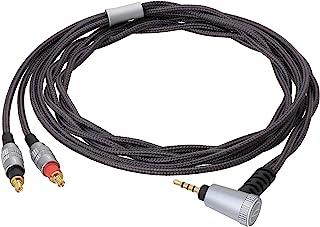 Audio-Technica HDC112A/1.2 2.5mm 可拆卸头戴式耳机线适用于 MSR7/WS1100/SR5