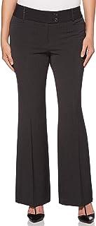 Rafaella 女式娇小曲线修身短款华丽长裤