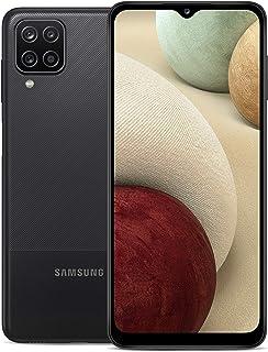 SAMSUNG 三星 Galaxy A12 黑色,64GB,4GB RAM,5,000 电池,6.5 英寸显示屏,48 个摄像头,工厂解锁 4G
