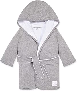 burt's bees baby organic knit terry hooded infant robe, heather grey by burt's bees baby
