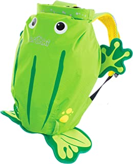 Trunki 防水儿童背包 & 浴袋 - PaddlePak Ribbit der Frosch (Grün) 52 cm