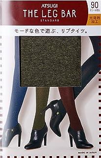 Atsugi厚木 The Leg Bar 连裤袜 木理罗纹 彩色连裤袜 纤度90旦尼尔左右 女士