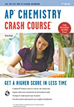 AP Chemistry Crash Course Book + Online: Get a Higher Score in Less Time (Advanced Placement (AP) Crash Course) (English E...