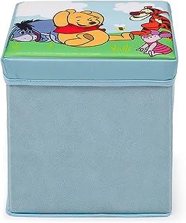 迪士尼 小熊维尼 可折叠 脚凳(红色)