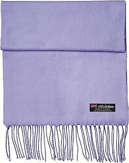 2 PLY * 羊绒围巾冬季城市时尚系列苏格兰制造温暖柔软羊毛纯色格子格子男式女式