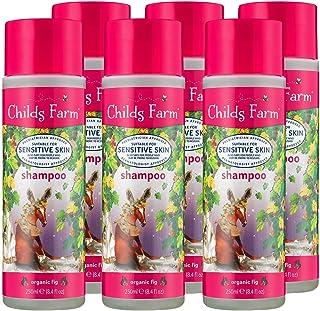 Childs Farm | 儿童洗发水 | *无花果 | 敏感肌肤 | **认可 | 250毫升 6件装