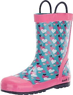 Kamik 女童可爱橡胶靴