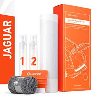 Luxshield 汽车保险杠保护套 全套 适用于 F-Pace X761 I 2016-2020 - 汽车后保险杠保护 - 防刮 PPF 配件 - 透明油漆保护膜