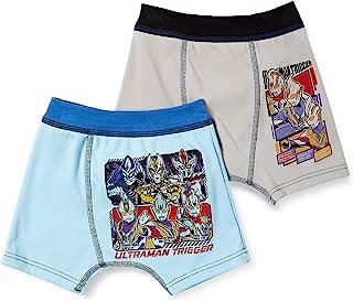 Bandai 万代 内衣 奥特曼 触发 带玩具平角内裤2条装 男孩