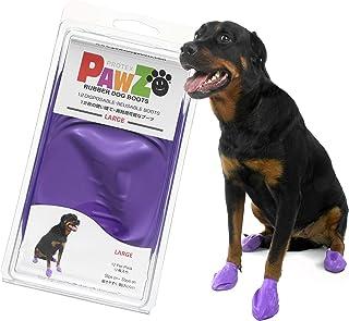 PAWZ 乐福犬靴 日本限定包装 紫色 L 尺寸