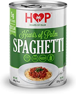 HOP Low Carb Pasta Made from Hearts of Palm, 400 g