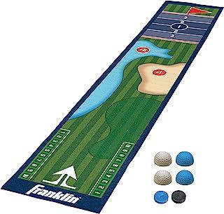 Franklin Sports 洗牌桌游戏垫 – 桌面洗牌桌垫和推杆 – 室内洗牌板游戏