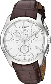 Tissot 男士 Couturier 计时器 - T0356171603100