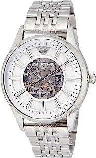 Emporio Armani 男士 AR1945 正装银色手表