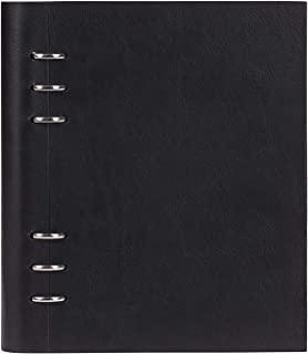 filofax 斐来仕 023611 Clipbook A5 黑色 活页多功能记事本 笔记本 活页本日记本 万用手册 手账