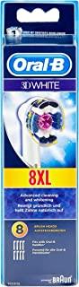 Oral-B 欧乐B 3D白色替换牙刷头,8个装