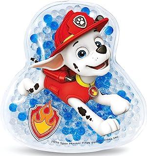 Paw Patrol 狗狗巡逻队儿童擦伤安抚器 | 冷却凝胶包/冰包,适用于肿块和擦伤 | 可重复使用 | 冷装和温暖使用 | 舒缓,Marshall 带微笑回来! | Jellyworks 制造