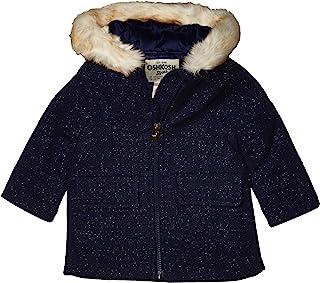 OshKosh B'Gosh 女婴甜美人造羊毛夹克连衣裙外套