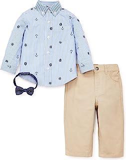 Little Me 男童针织裤套装
