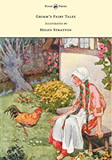 Grimm's Fairy Tales - With Many Illustrations in Colour and in Black-And-White by Helen Stratton (English Edition)
