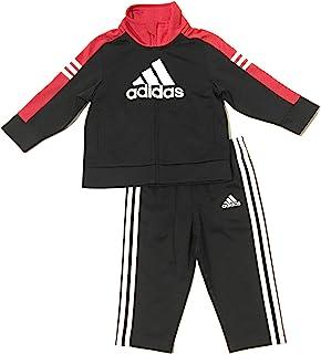adidas 阿迪达斯男婴运动服 黑色/红色 9 个月