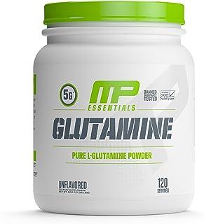Muscle Pharm - 谷氨酰胺精华Pure L-谷氨酰胺粉末没有味道 - 600克, 3.17盎司