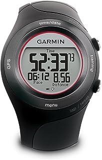 Garmin 佳明 Forerunner 410 GPS 启用运动手表,心率监测器010-00658-41 带心率监测器 均码 黑色
